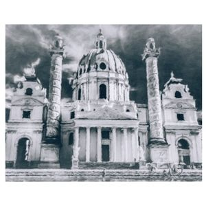 Other - Karlskirche 8X10 Digital Photographic Painting